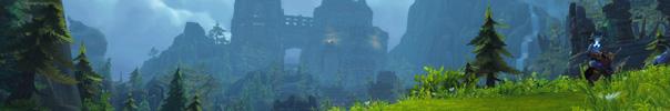 WoW Insel der Verdammten Banner