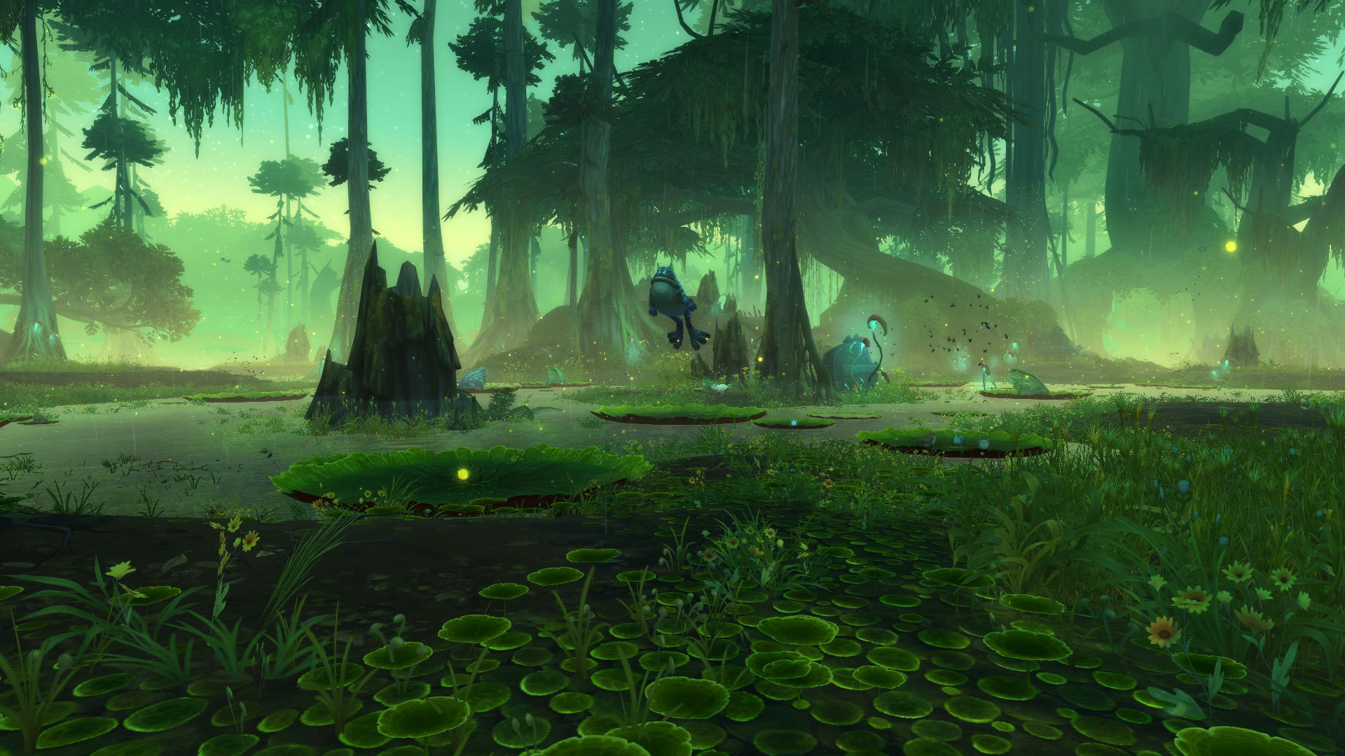 World of Warcraft Zandalar Frosch