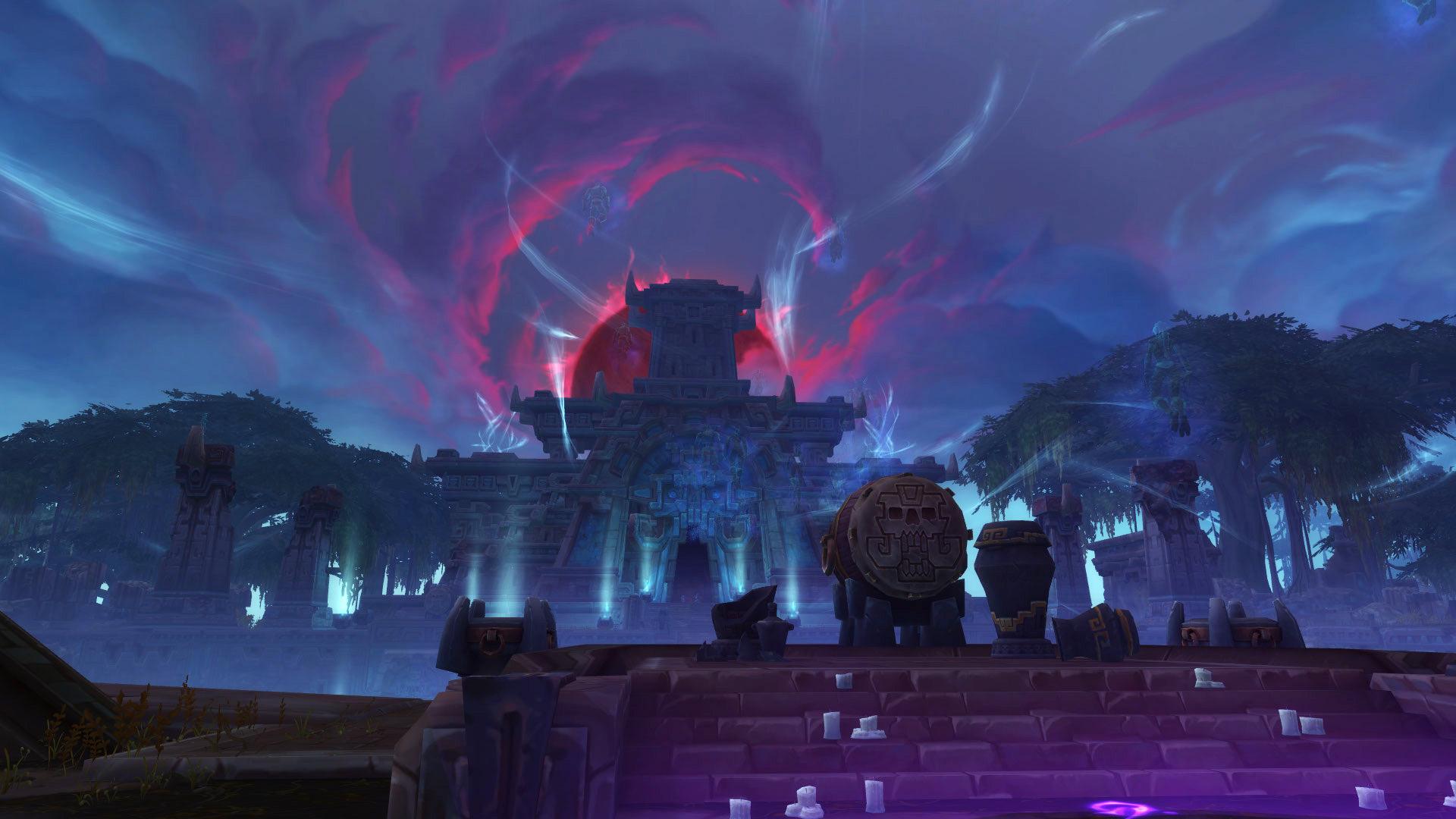 World of Warcraft Zandalar Mond