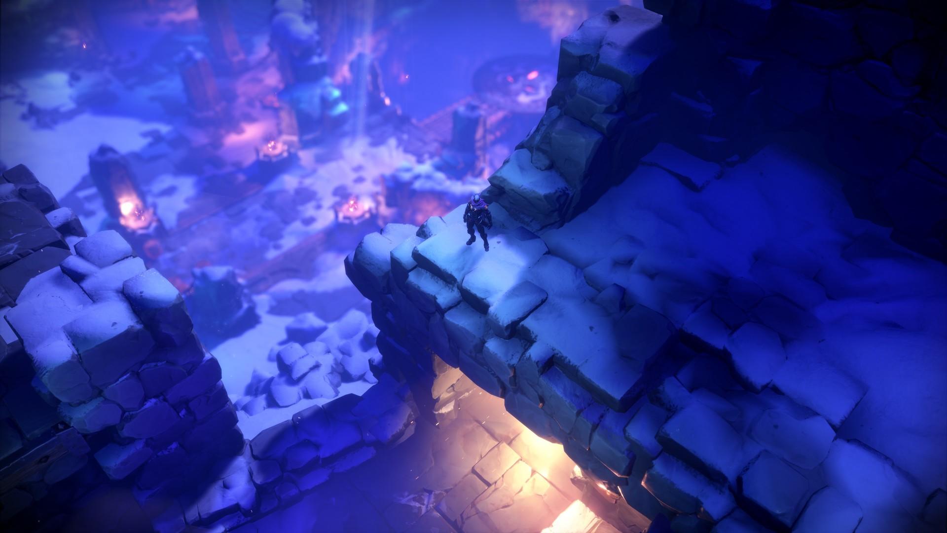 Darksiders Genesis Ansicht Schnee