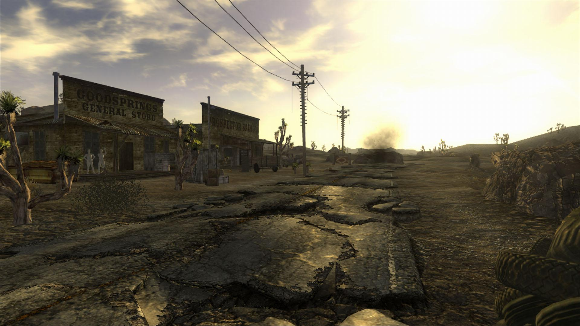 Fallout New Vegas Goodsprings